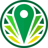 Greenery Map, the Cannabis Search Engine logo