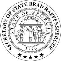 Secretary of State, Georgia - SOS logo