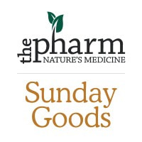 The Pharm & Sunday Goods logo